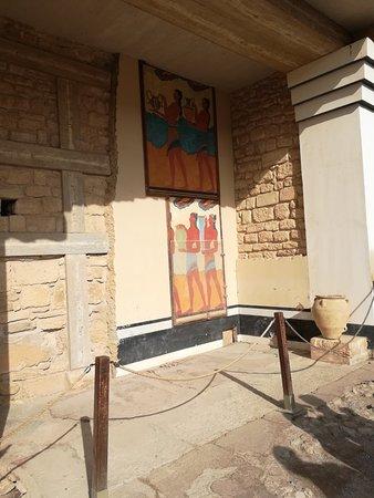 Knossos Archaeological Site ภาพถ่าย