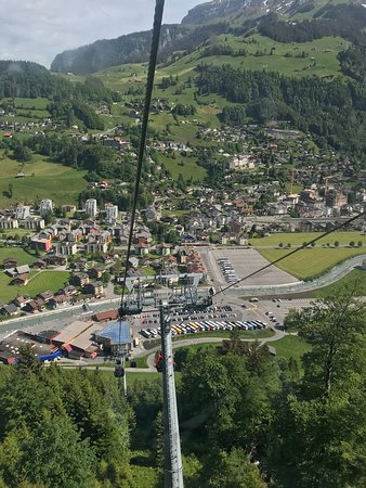 Mount Titlis excursion from Engelberg: View from cable car