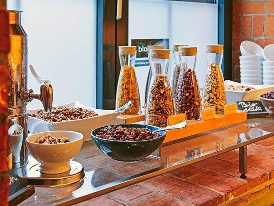 Unser reichhaltiges und ausgewogenes Frühstücksbuffet im Restaurant Mangold
