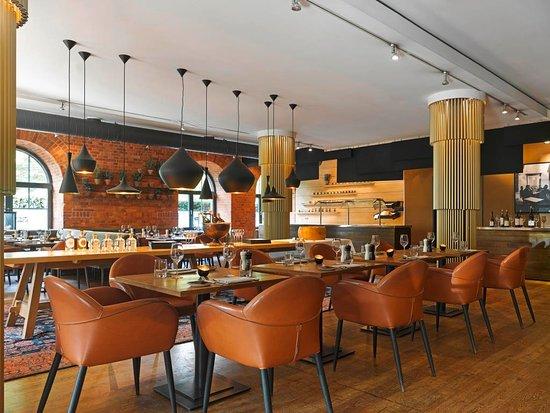 Gemütliche Atmosphäre im Restaurant Mangold