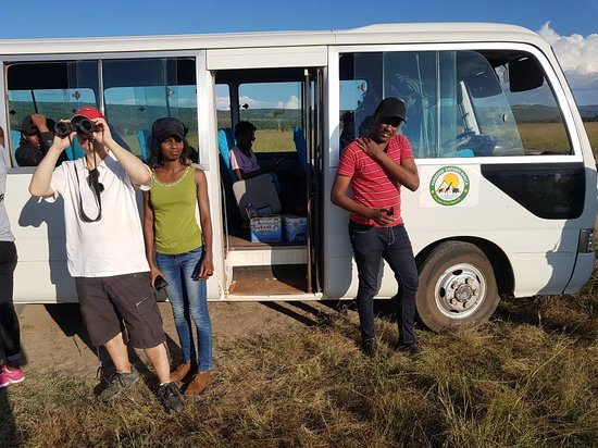 Paradise Safaris Africa: Our 30-seater safari bus