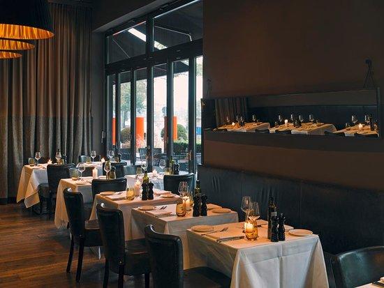 Das Restaurant DaCaio im The George Hotel an der Außenalster