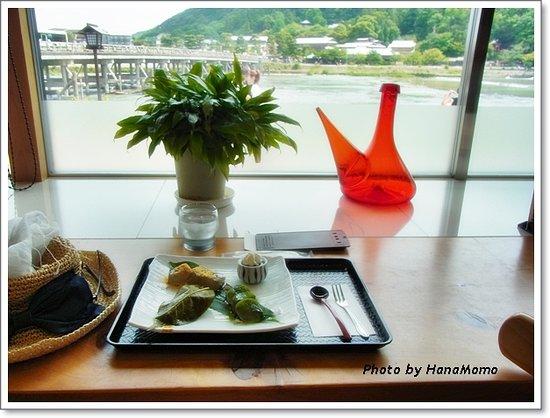 Cafe Hanashirube: お勧めの「 花しるべ 」3種盛り(864円)