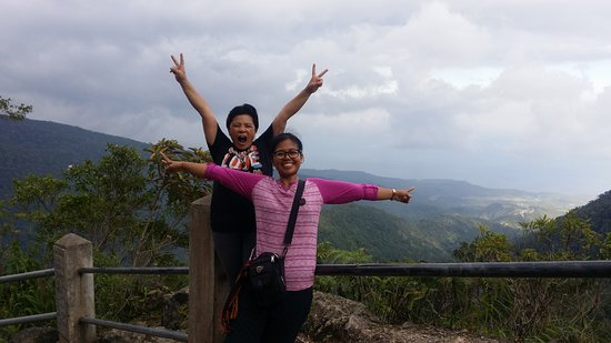Wae Rebo Village: Pemandangang perjalanan treking sebelum kedesa