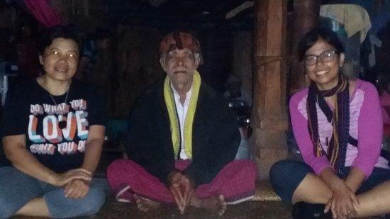 Wae Rebo Village: Disambut oleh Bapak Thomas sebagai penatua desa