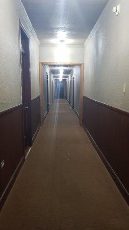 deer lodge hallway