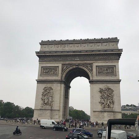 Big Bus Paris 巴黎巴士观光游照片