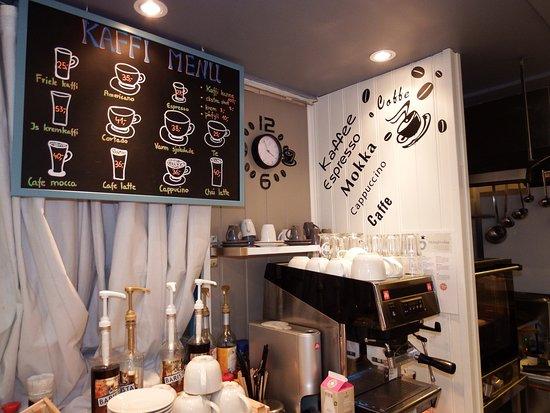 LunsjKafe: coffe meny