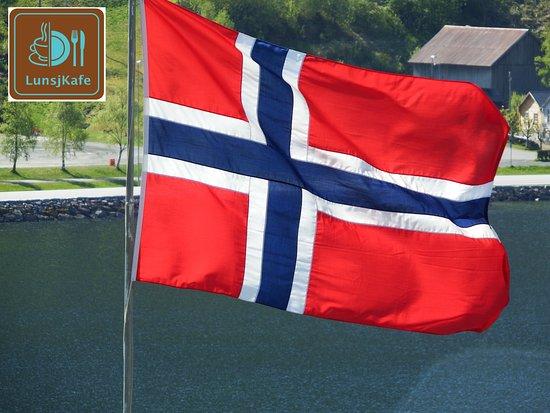 LunsjKafe: flag