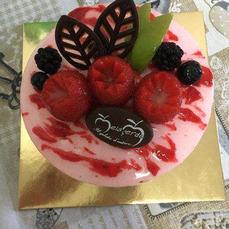 Gelateria Melaverde 2: Torta gelato alla fragola