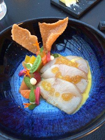 Restaurant Ikarus : marinated fish