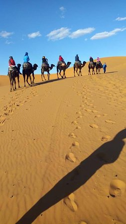 Morocco Excellent Trips : first time on a camal
