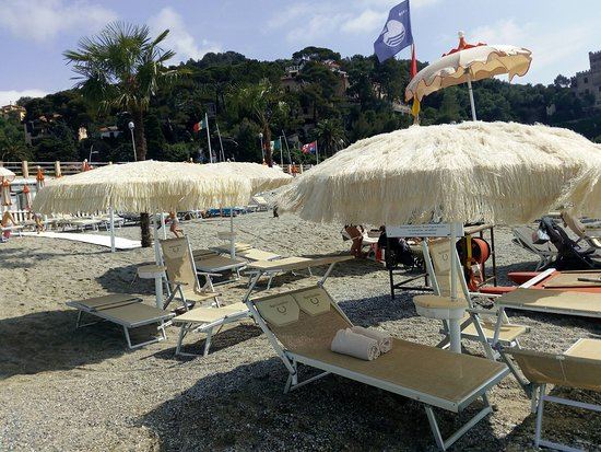 Castelletto Beach Restaurant: Beach