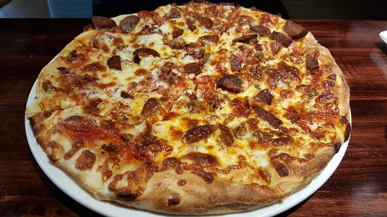 Timberwolf Pizza & Pasta Cafe: Tmberwolf pizza