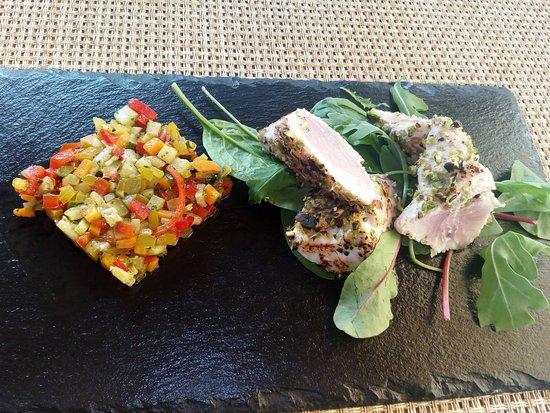Castelletto Beach Restaurant: Food