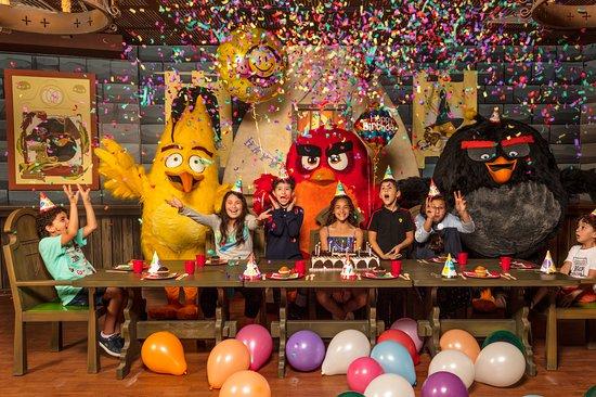 الضعاين, قطر: Birthday celebration at Angry birds world Qatar