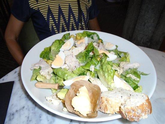Waag: Caesar salad
