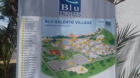 Blu Salento Village: Piantina