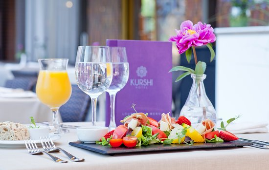 Restaurant KURSHI Terase: We think about your well being