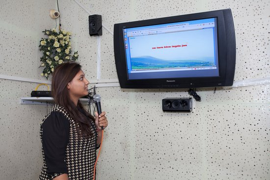 Sharmila's Kitchen : Karaoke Live music recording studio