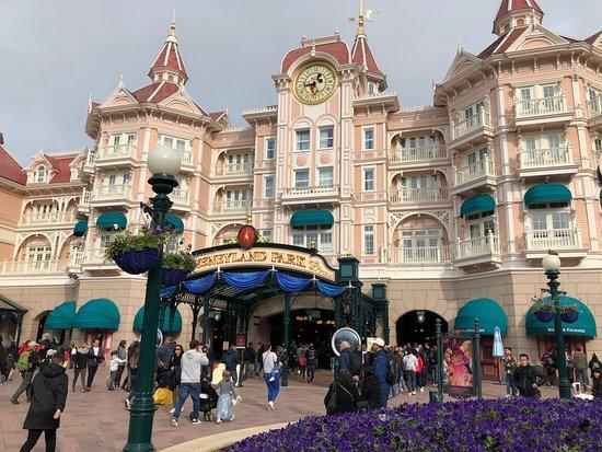巴黎迪士尼乐园照片
