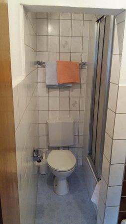 Usseln, Tyskland: Sehr kleines Bad