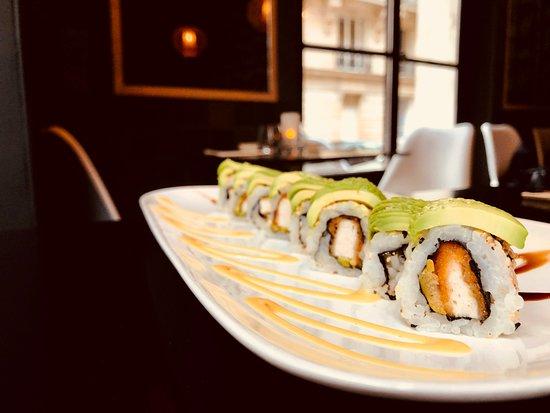 Ponzu: Chiken Katsu sushi