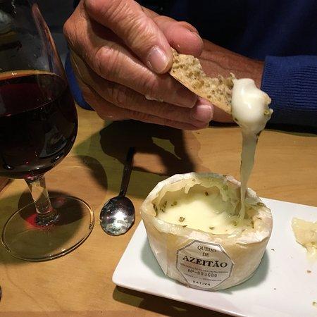 Eerst de wijn en dan het eten!
