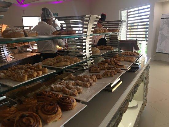 Breathless Punta Cana Resort & Spa : petit dejeuner