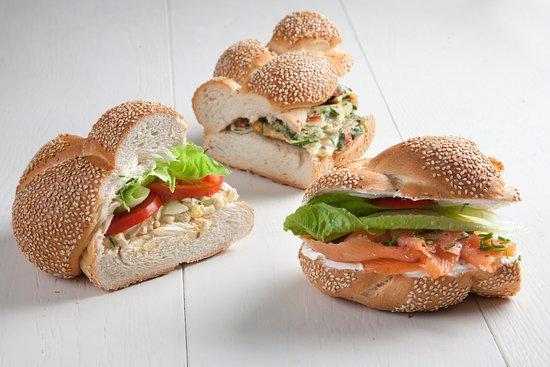 Lehamim Bakery- Ibn Gvirol: Callahan sandwiches- Friday only