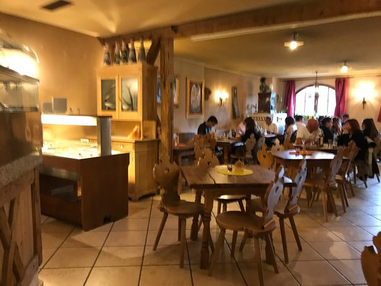 Ristorante Pizzeria Remo: das gemütliche Restaurant