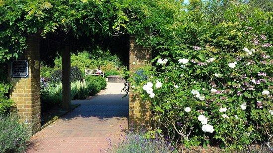 Horsham Park: Park House Sensory Garden