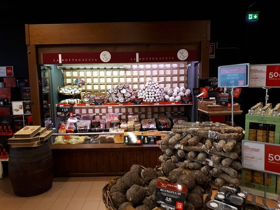 Autogrill: salumi section