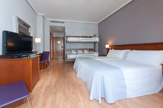 Tryp Madrid Cibeles Hotel : Habitación Familiar