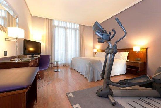 Tryp Madrid Cibeles Hotel: Habitación Fitness