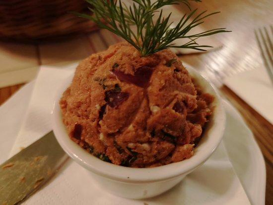 Polka Restauracja: pasta z makreli (jak na jedną osobę za duża porcja)