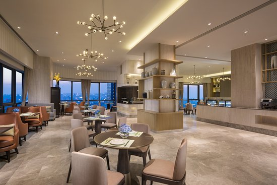 Ascott Harmony City Nantong: Breakfast Lounge