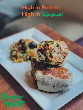 Ginger and Mint - Crouch End: Chicken Wrap