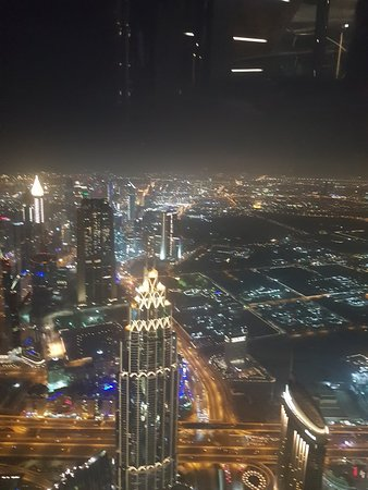 Burj Khalifa Level 124 'At the Top' Entrance Ticket with One-way Transfer Fotografie
