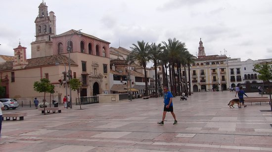 Plaza de Espana: diversas vistas de la plaza