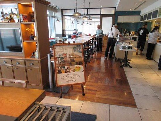 Kamaishi Terrace: レストランの入り口