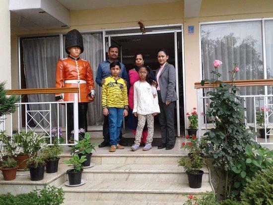 Mount Himalayan Resort : Happy guests Mukesh Gupta & family.