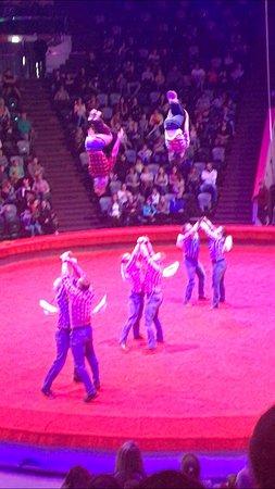 Kazan Circus: Гимнасты