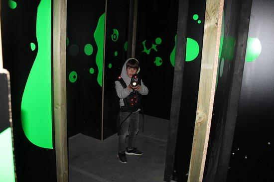 Laser Game Evolution Namur: Salle 2