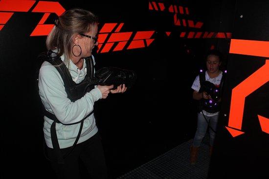 Laser Game Evolution Namur: Salle 1