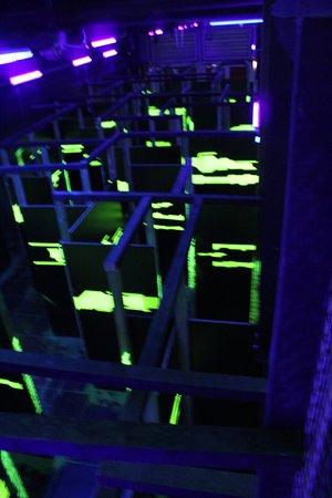 Laser Game Evolution Namur: Salle 3