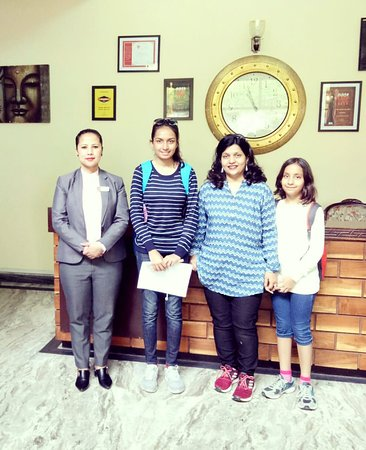 Summit Norling Resort & Spa: Happy Guest Mrs.Varsha Thakur and family.