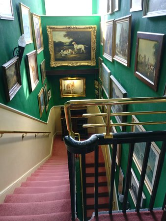 Kingscourt, Ireland: One of the many stair cases