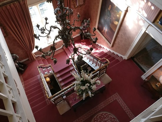 Kingscourt, Ireland: Main staircase from above