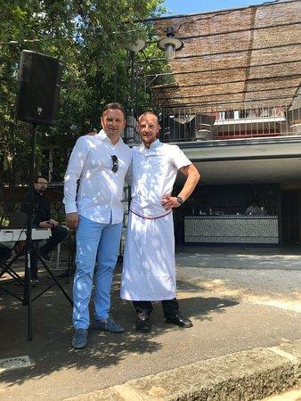 Restaurant Dida : 2 chefs - F&B manager Miro & chef de cuisine Aleks